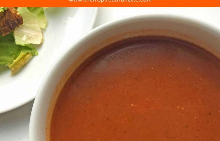 Homemade Tomato Soup Recipe