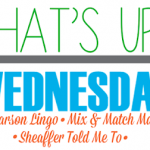 What's Up Wednesday {September 26, 2018}