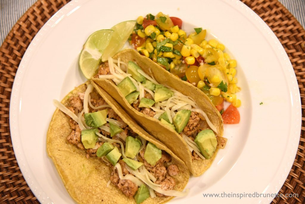 Finding meals that the entire family enjoys can be a challenge, but these quick and easy ground turkey tacos are a winner! Not only are they an easy meal to make on a weeknight, but kids and adults can customize these turkey tacos to their own liking.