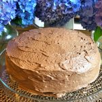 The Best Mocha Chocolate Cake