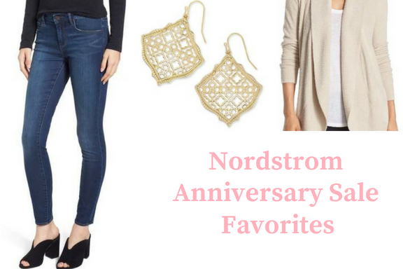 The 2018 Nordstrom Anniversary Sale is finally here! Check out some of my top pick for moms from the sale in women's clothing, shoes, and jewelry.