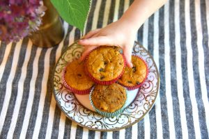 These whole wheat pumpkin spice muffins are a healthier version of this fall classic. Perfect as an after school snack or with your morning coffee...