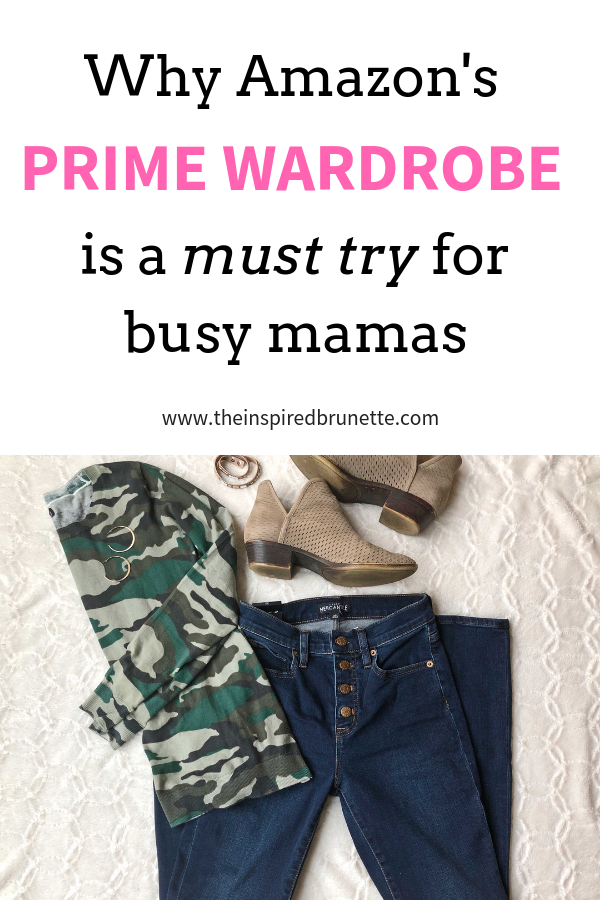Amazon's new Prime Wardrobe program is the perfect solution for busy moms who don't have time to shop for clothing, shoes, and accessories, or who don't want to shop with kids in tow!