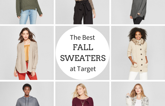 Top Fall Sweaters At Target