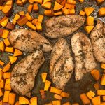 Easy Maple Glazed Chicken and Sweet Potatoes