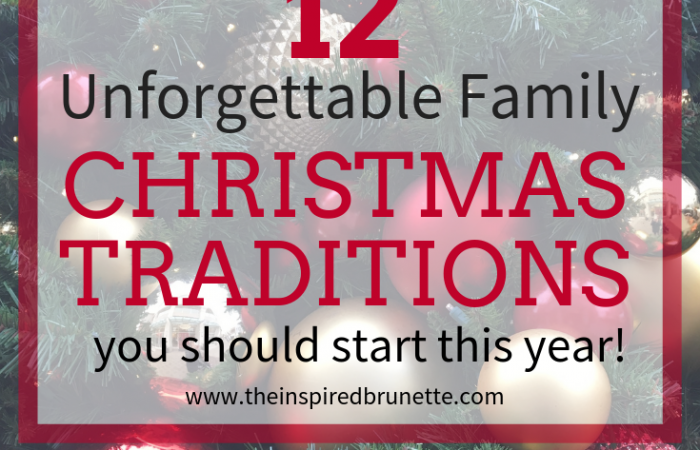 memory making family Christmas traditions