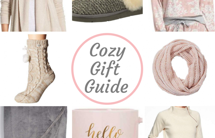 Cozy gifts are some of my very favorite gifts to give and receive. I love anything that I can snuggle up in all winter long. Below are a few of my current favorite cozy gifts this holiday season. If you have a mom, sister, friend, or daughter who loves all things warm and cozy, keep reading!