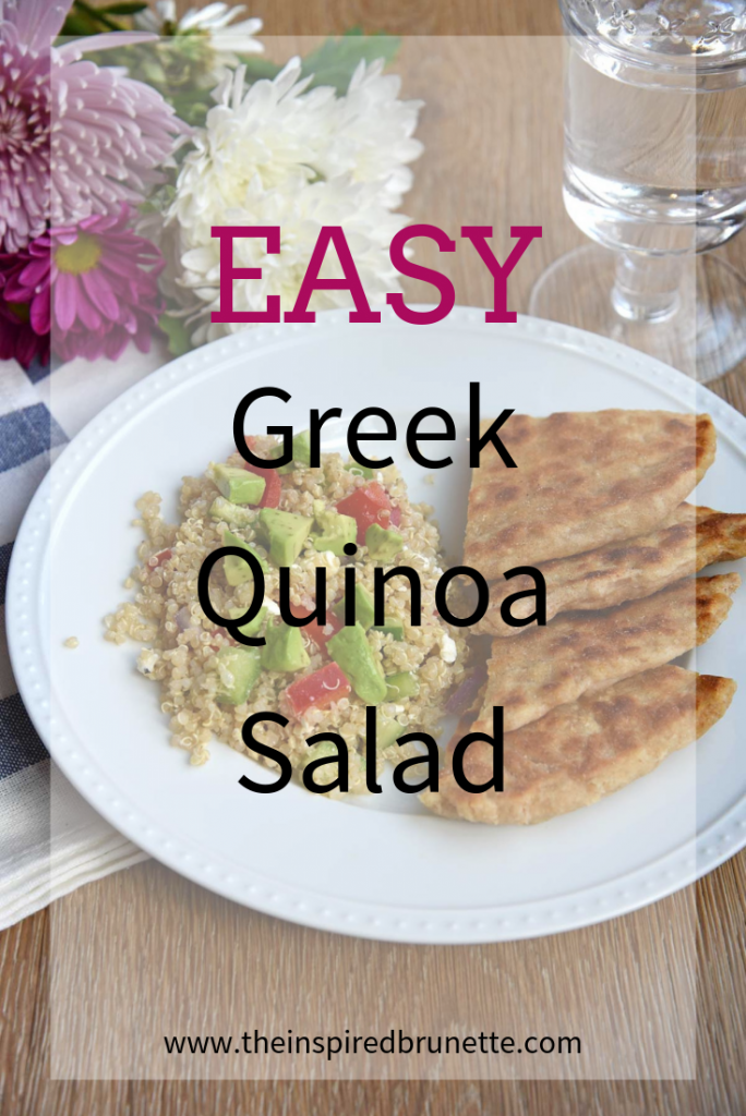 Easy Greek Quinoa Salad
