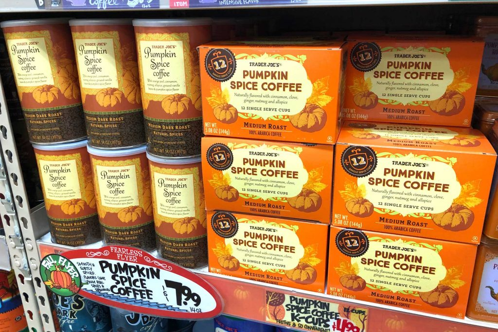 Trader Joe's Pumpkin Spice Coffee