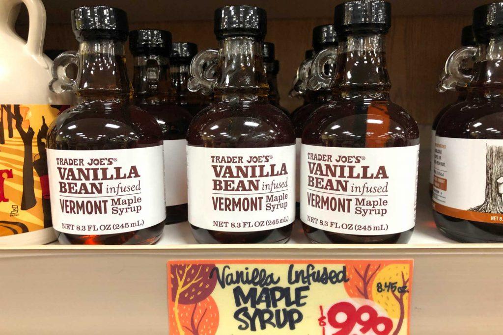 Trader Joe's Vanilla Bean Syrup