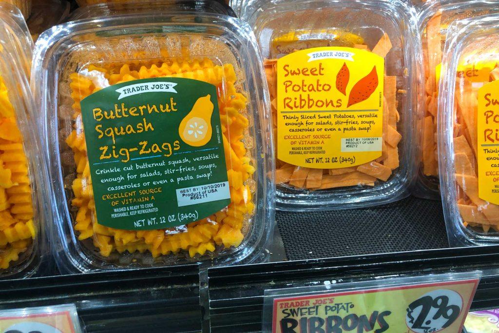 Trader Joe's Butternut Squash Zig-Zags