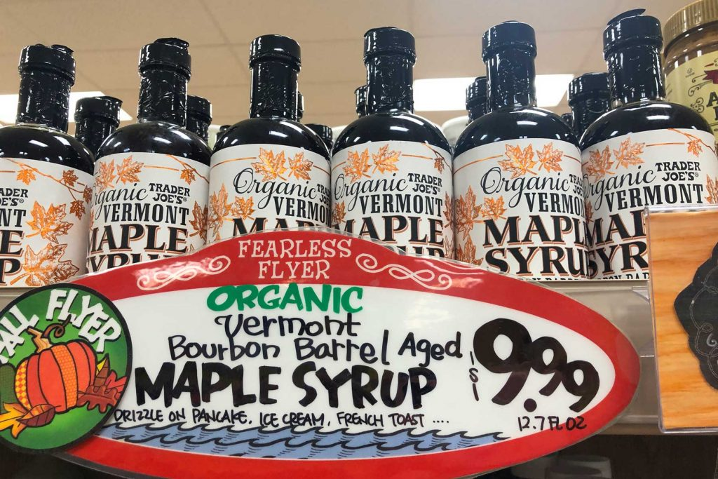 Trader Joe's Bourbon Maple Syrup