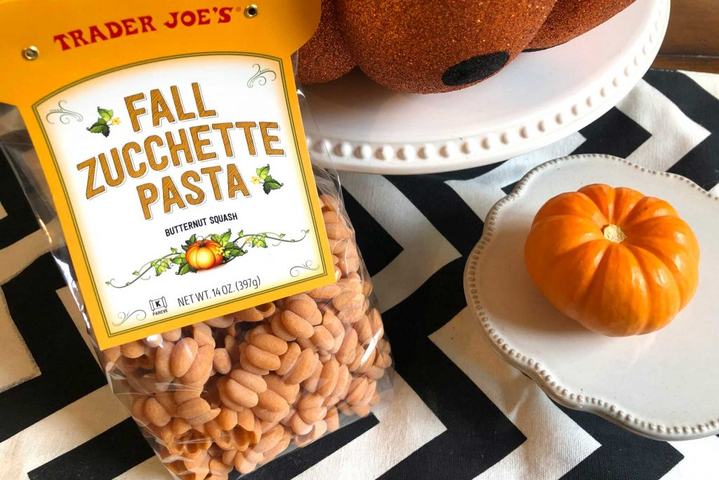 Trader Joe's Fall Zucchette Pasta