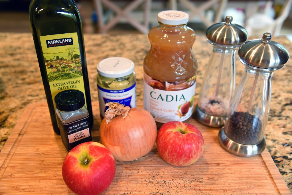 slow cooker apple cider chicken sandwich ingredients