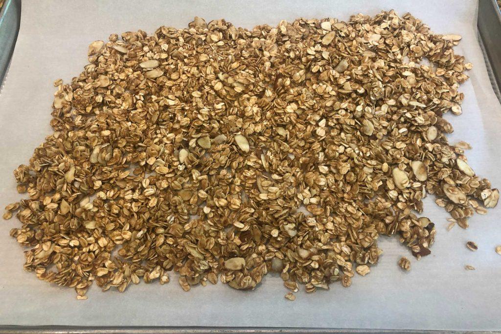 crisp oat topping