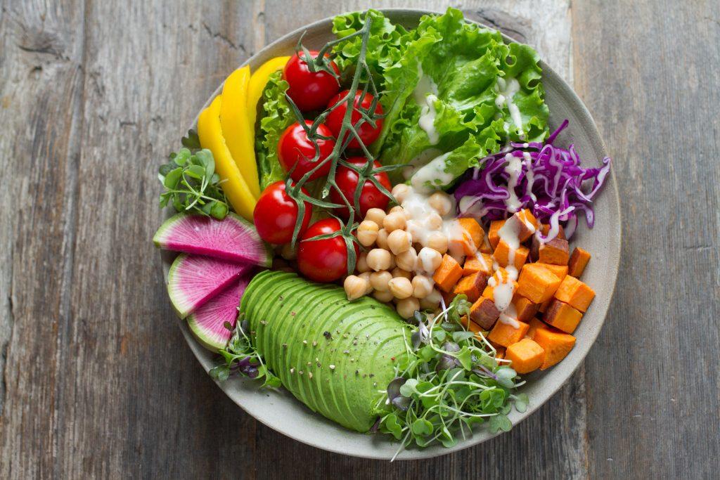 teenage vegetarian lunch