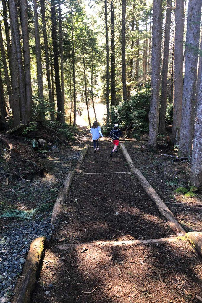 Seabrook Washington trails